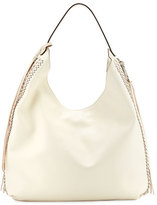 Rebecca Minkoff Bryn Leather Hobo Bag, Antique White