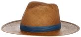 Janessa Leone Panton Short Brim Panama Hat