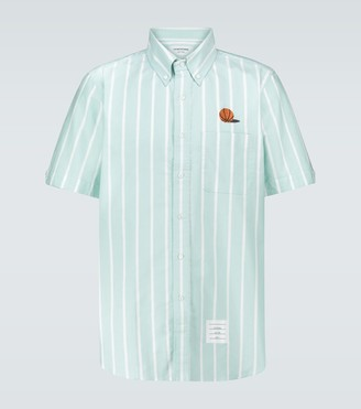 Thom Browne Ball embroidered Oxford shirt