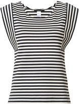 Derek Lam striped sleeveless T-shirt - women - Cotton/Spandex/Elastane - 42