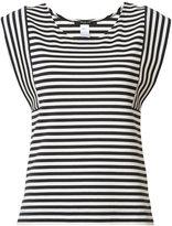 Derek Lam striped sleeveless T-shirt