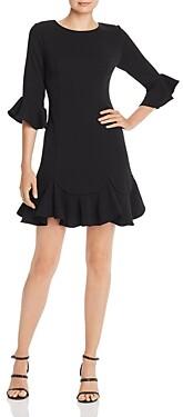 Adrianna Papell Bell-Sleeve Dress