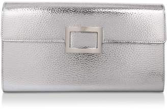 Roger Vivier Leather Envelope Clutch Bag