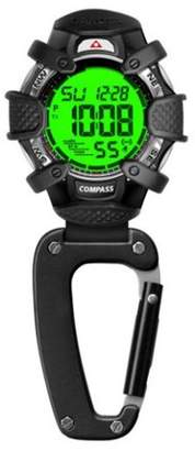 Luxury Home Tactical Digital, Water Resistant, Compass Clip Watch