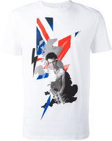 Neil Barrett graphic print T-shirt - men - Cotton - XL