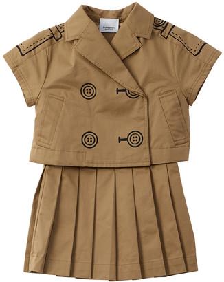 Burberry Trompe L'oeil Trench Dress