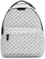 Stella McCartney White Monogram Falabella Backpack
