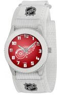 Game Time Rookie Series Detroit Red Wings Silver Tone Watch - NHL-ROW-DET - Kids
