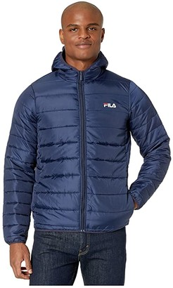 Fila Pavo Quilted Jacket (Peacoat) Men's Clothing