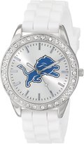 Game Time Women's NFL-FRO-DET Frost NFL Series 3-Hand Analog Watch