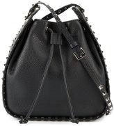 Valentino Garavani Valentino Rockstud bucket bag - women - Leather/metal - One Size