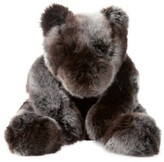 Infant Manhattan Toy Luxe Sable Bear Stuffed Animal