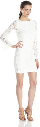 Nightcap Clothing Women's Cherry Blossom Lace Priscilla Dress