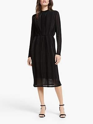 Y.A.S Yasdiane Shimmer Dress, Black