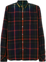 Sacai Ombre plaid shirt
