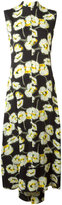 Marni floral print sun dress - women - Viscose - 40