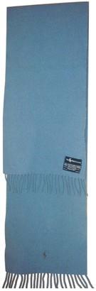 Ralph Lauren Blue Wool Scarves