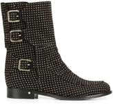 Laurence Dacade 'Rick' studded ankle boots - women - Leather/Suede - 37.5