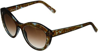 Joe's Jeans Women's JJ 1014 Round Fashion Designer UV Protection Sunglasses