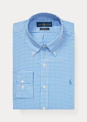 Ralph Lauren Custom Fit Gingham Dobby Shirt