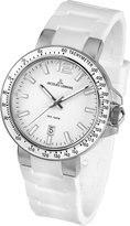 Jacques Lemans Milano 1-1695B 41mm Stainless Steel Case Silicone Mineral Men's & Women's Watch