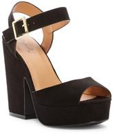 Qupid Gavin Platform Block Heel Sandal