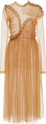 Preen by Thornton Bregazzi Echo Sheer Tulle Dress