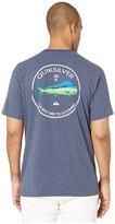 Quiksilver Waterman Fish Hero 2 (Navy Iris Heather) Men's Clothing
