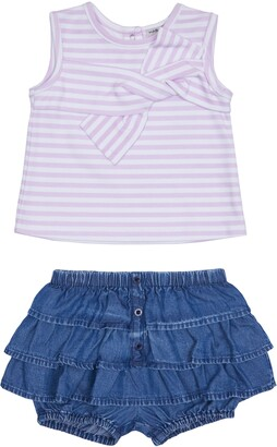 Habitual Kids Stripe Top & Shorts