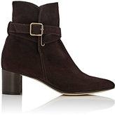 Manolo Blahnik Women's Sulgamba Suede Ankle Boots