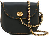 Coach Turnlock saddle bag - women - Leather - One Size