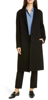 Theory Classic Wool & Cashmere Coat