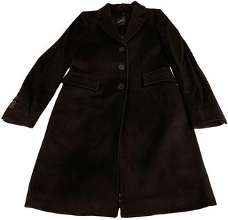 Marella Black Wool Coat for Women