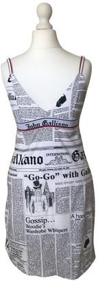 John Galliano Multicolour Cotton Dress for Women