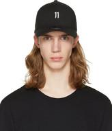 11 By Boris Bidjan Saberi Black Curve Cap