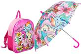 My Little Pony Umbrella & Junior Backpack