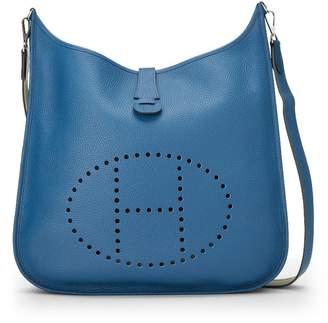 Hermes Blue Jean Amazon Clemence Evelyne III TGM