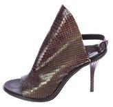 Balenciaga Python Glove Sandals