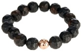 Luis Morais Rose-gold And Ebony-bead Bracelet
