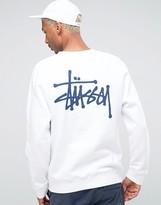 Stussy Sweatshirt With Small Logo