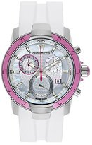 Technomarine Women's 610001 UF6 Chronograph White MOP Dial Watch