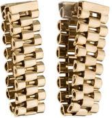 Lanvin Looped Link Chain Earrings