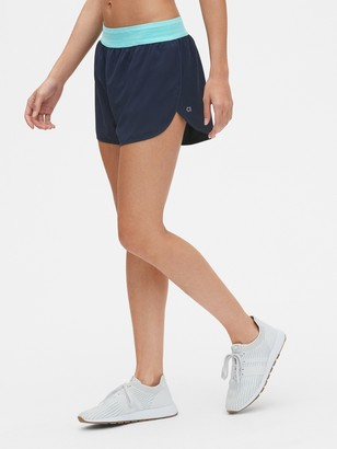 "Gap GapFit 3"" Running Shorts with Perforated Waistband"