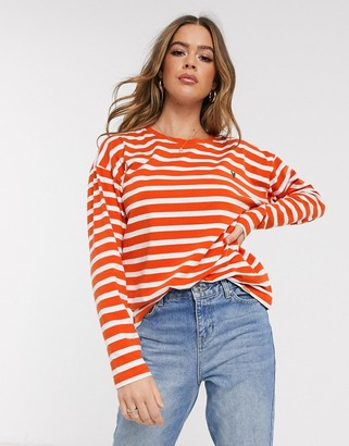 Blend She Oline stripe sweatshirt