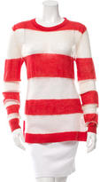 Acne Studios Striped Mohair Sweater
