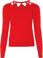 Altuzarra Woodward cut-out wool sweater