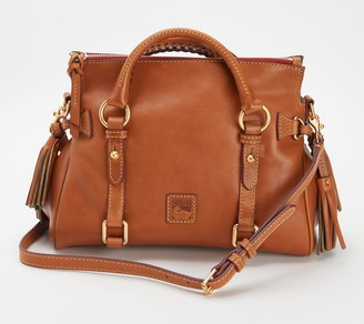Dooney & Bourke Florentine Leather Mini Satchel