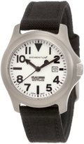Momentum Women's 1M-SP01W6B Atlas White Dial Black Cordura Watch