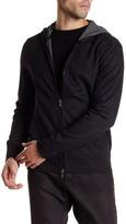 Star USA By John Varvatos Hooded Pinstripe Zip Jacket