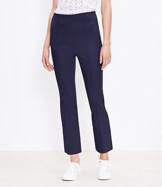 LOFT High Waist Kick Crop Pants